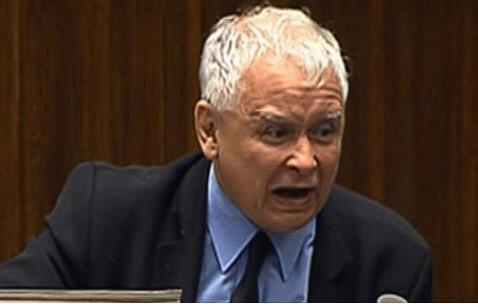 Wściekłość, rozpacz i łzy? Kaczyński nie może pogodzić się z przegraną.