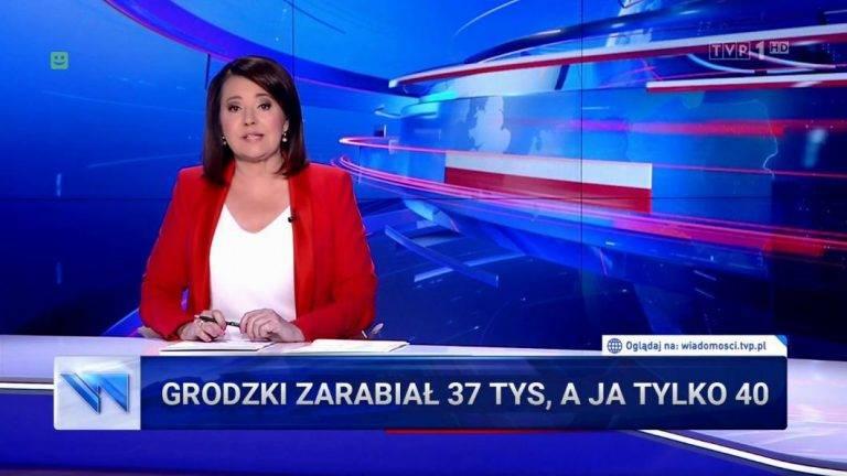 """""""Pół miliona rocznie!"""" Niech TVP zrobi materiał o zarobkach swojej prezenterki – proponują Polacy"""
