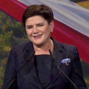 Beata Szydło. Fot. YT